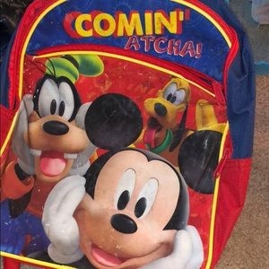 Mickey small back pack